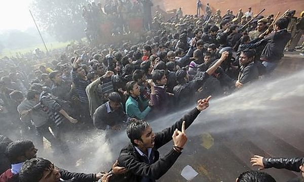 Proteste in Neu-Delhi / Bild: REUTERS