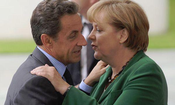 Neues Griechenland-Paket: Merkel und Sarkozy einig / Bild: Frankreichs Präsident Nicolas Sarkozy und Deutschlands Kanzlerin Angela Merkel (c) EPA (Joerg Carstensen)