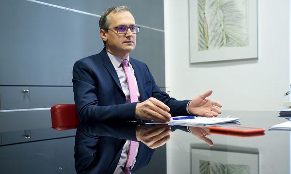 """Wolfgang Urbantschitsch: """"Eines war die E-Control nie: eine One-Man-Show."""" / Bild: (c) Die Presse (Clemens Fabry)"""