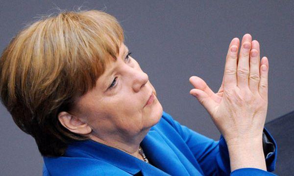 Angela Merkel / Bild: (c) EPA (MAURIZIO GAMBARINI)