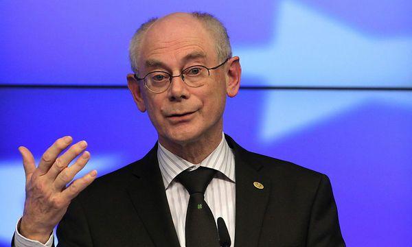 Herman Van Rompuy / Bild: EPA