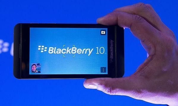 Rettet das Z10 Blackberry? Tester sind skeptisch / Bild: (c) AP