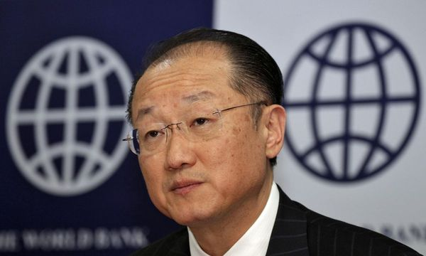 World Bank President Jim Yong Kim attends a news conference in New Delhi / Bild: REUTERS