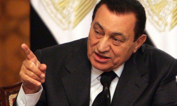 Mubarak soll sich in Wien behandeln lassen / Bild: Ex-Präsident Hosni Mubarak im Jahr 2009 (c) EPA (Khaled El Fiqi)