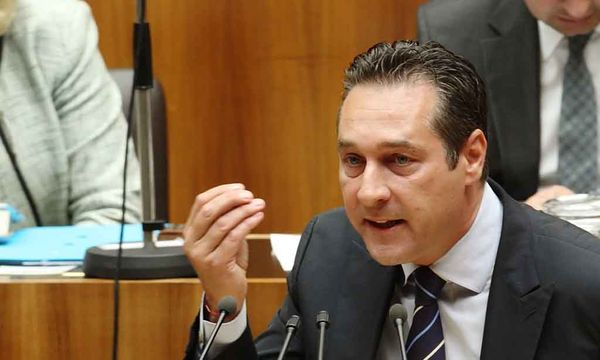Nationalrat Strache / Bild: (c) REUTERS (HEINZ-PETER BADER)