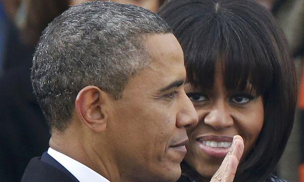 Barack und Michelle Obama. / Bild: (c) REUTERS (JASON REED)