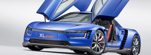 Die neue Volkswagen Studie XL Sport