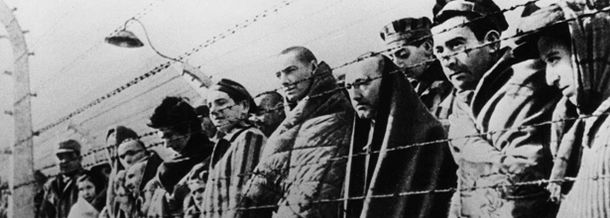 WW2 Oswiecim concentration camp prisoners freed by the Red Army in January 1945 Auschwitz Befre