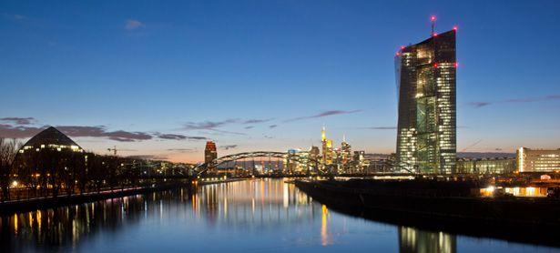 EZB-Neubau in Frankfurt am Main / Bild: (c) APA/dpa/Boris Roessler (Boris Roessler)