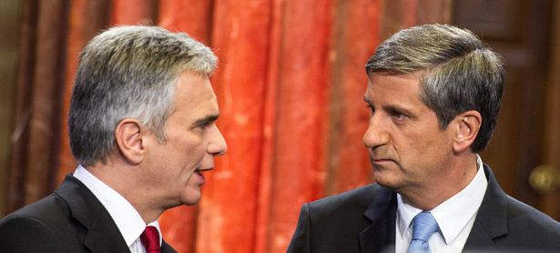 Faymann & Spindelegger / Bild: (c) imago stock&people (imago stock&people)