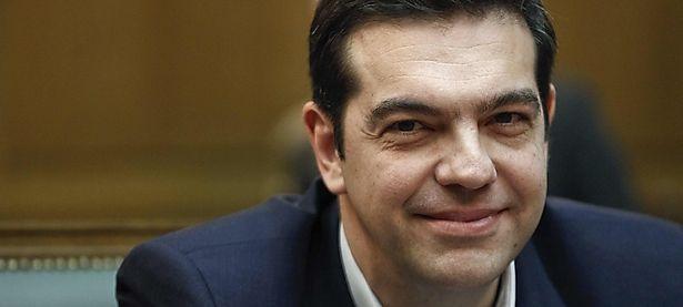 Alexis Tsipras am Mittwoch / Bild: REUTERS