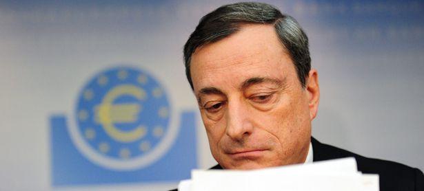 EZB-Chef Mario Draghi kann zufrieden sein: Die Eurozone erholt sich langsam. Allerdings hinkt Italien hinterher. Und auch Österreich entwickelt sich immer mehr zum Sorgenkind. / Bild: (c) EPA