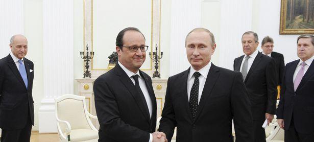 Putin und Hollande / Bild: (c) REUTERS (SPUTNIK)