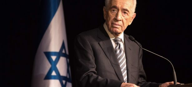 Archivbild: Schimon Peres im Jahr 2014. / Bild: (c) AFP (MENAHEM KAHANA)