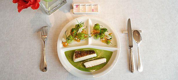 Der Wandel des Seniorentellers: nun mit Essen vom Haubenkoch. / Bild: Die Presse