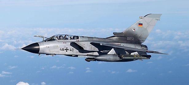 """Ein """"Tornado"""" der Bundeswehr / Bild: imago/Eibner"""