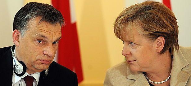 Orban und Merkel, Aufnahme von 2011 / Bild: (c) APA/EPA