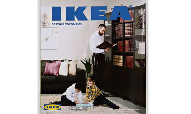 ikea bietet f r strengreligi se juden katalog ohne frauen an. Black Bedroom Furniture Sets. Home Design Ideas