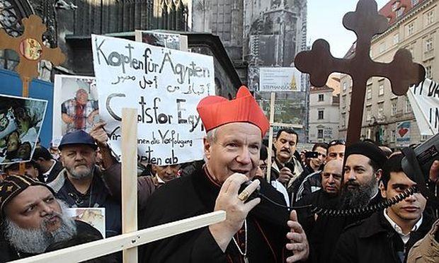 Demo Freitag Wien Detail: Schönborn Fordert Schutz Der Kopten Von Ägypten