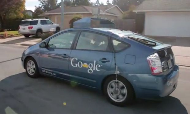 autonomes auto google l sst blinden fahren. Black Bedroom Furniture Sets. Home Design Ideas