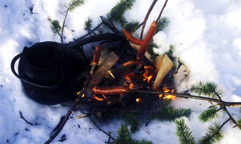 Grillen im Winter / Bild: Imago