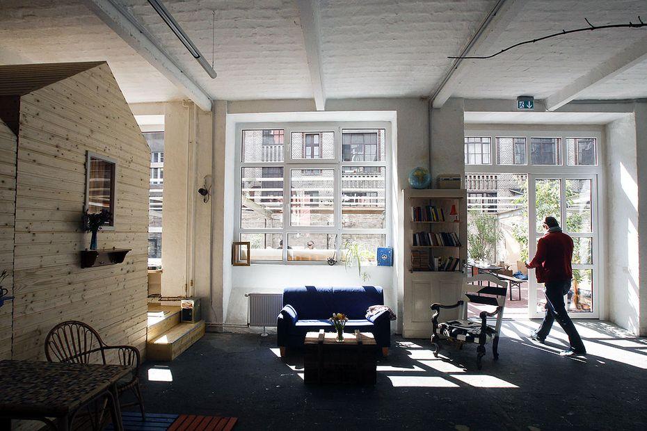 vía:diepresse.com. Mi habitación es una caravana. Hütten Palast. We Boho.