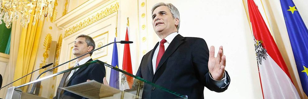 Spindelegger; Faymann / Bild: (c) imago stock&people (imago stock&people)