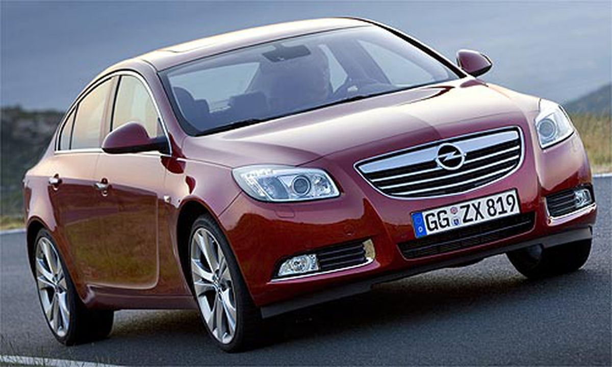 auto des jahres 2009 opel insignia. Black Bedroom Furniture Sets. Home Design Ideas