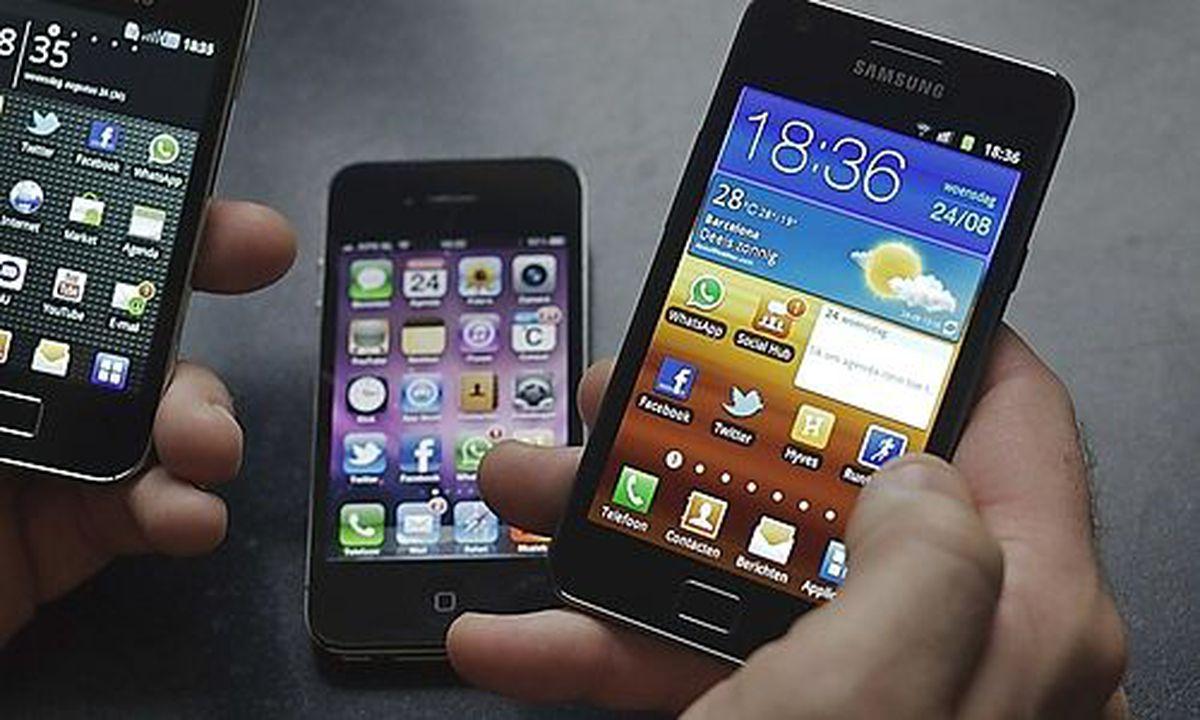 samsung werbung zieht iphone kult durch den kakao. Black Bedroom Furniture Sets. Home Design Ideas