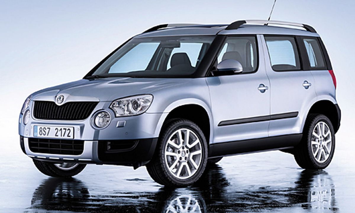 skoda yeti ein suv mit leichtigkeit. Black Bedroom Furniture Sets. Home Design Ideas